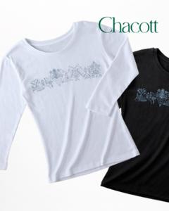 Chacott l Tシャツ7部-2 colors [Chacott l TShirt 7 copies-2 colors]