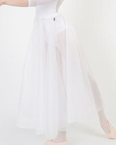 クリスタルバンドスカート-ホワイト [Crystal band Skirt-White]