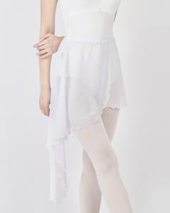ホワイトテイラースカート[シーポン]